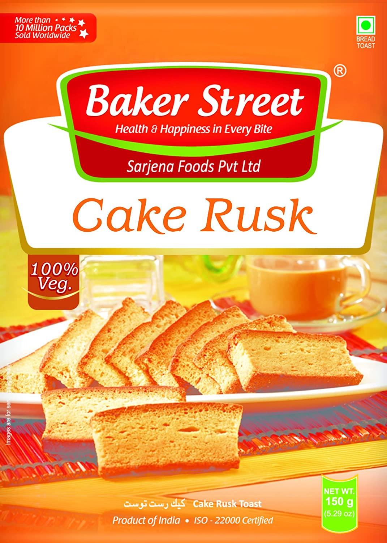 CAKE RUSK (VANILLA EGGLESS)