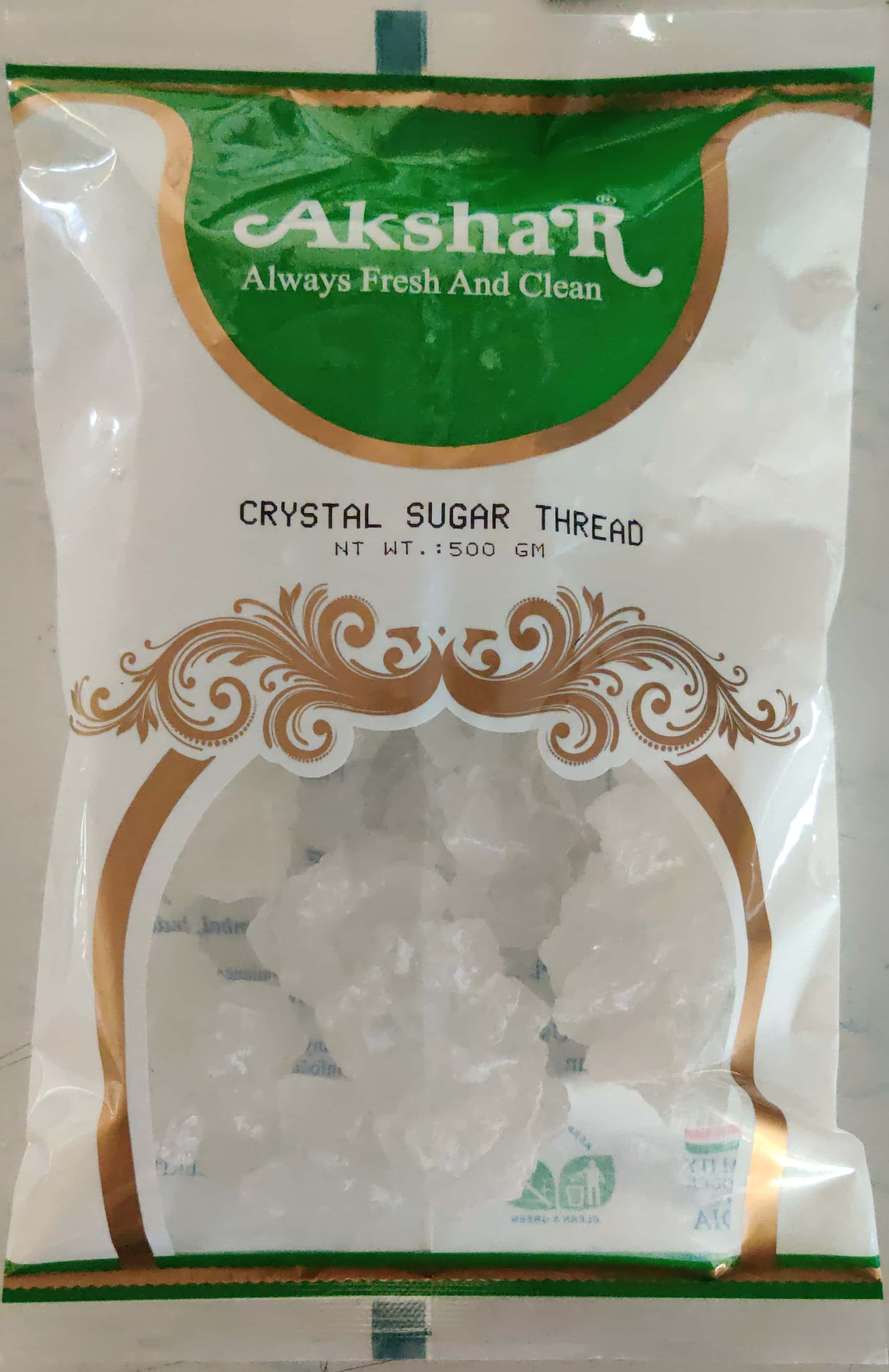 CRYSTAL SUGAR THREAD (MISHRI DHAGA)