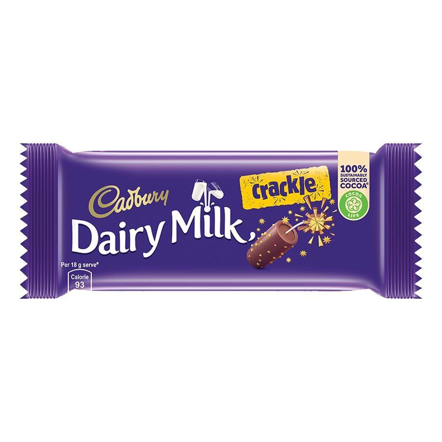 DAIRY MILK CRACKLE CHOCOLATE