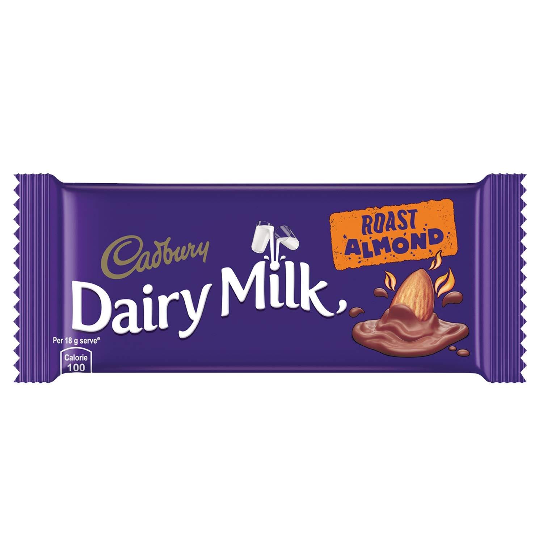 DAIRY MILK ROAST ALMOND CHOCOLATE