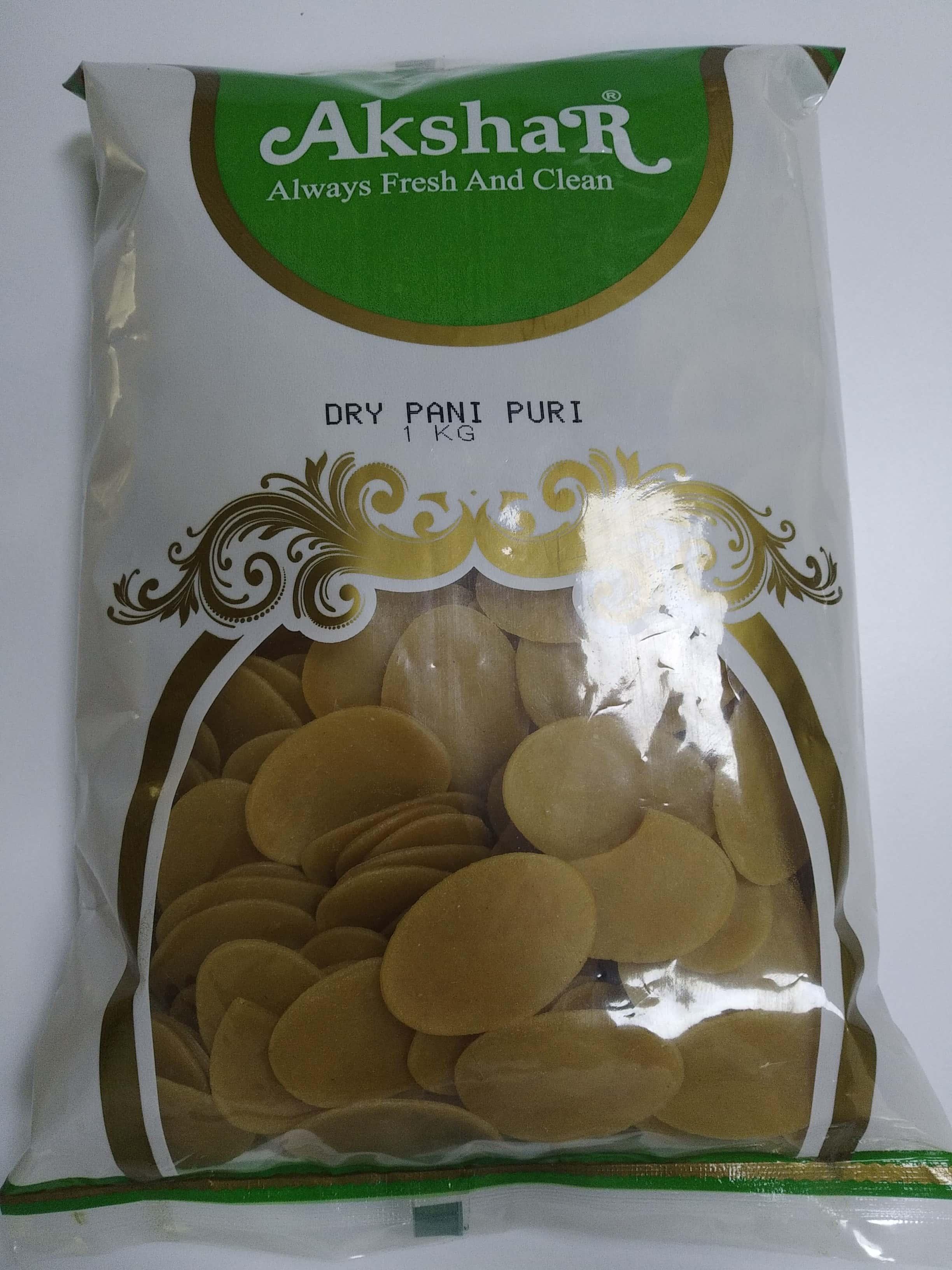 DRY PANI PURI (FOR FRY)