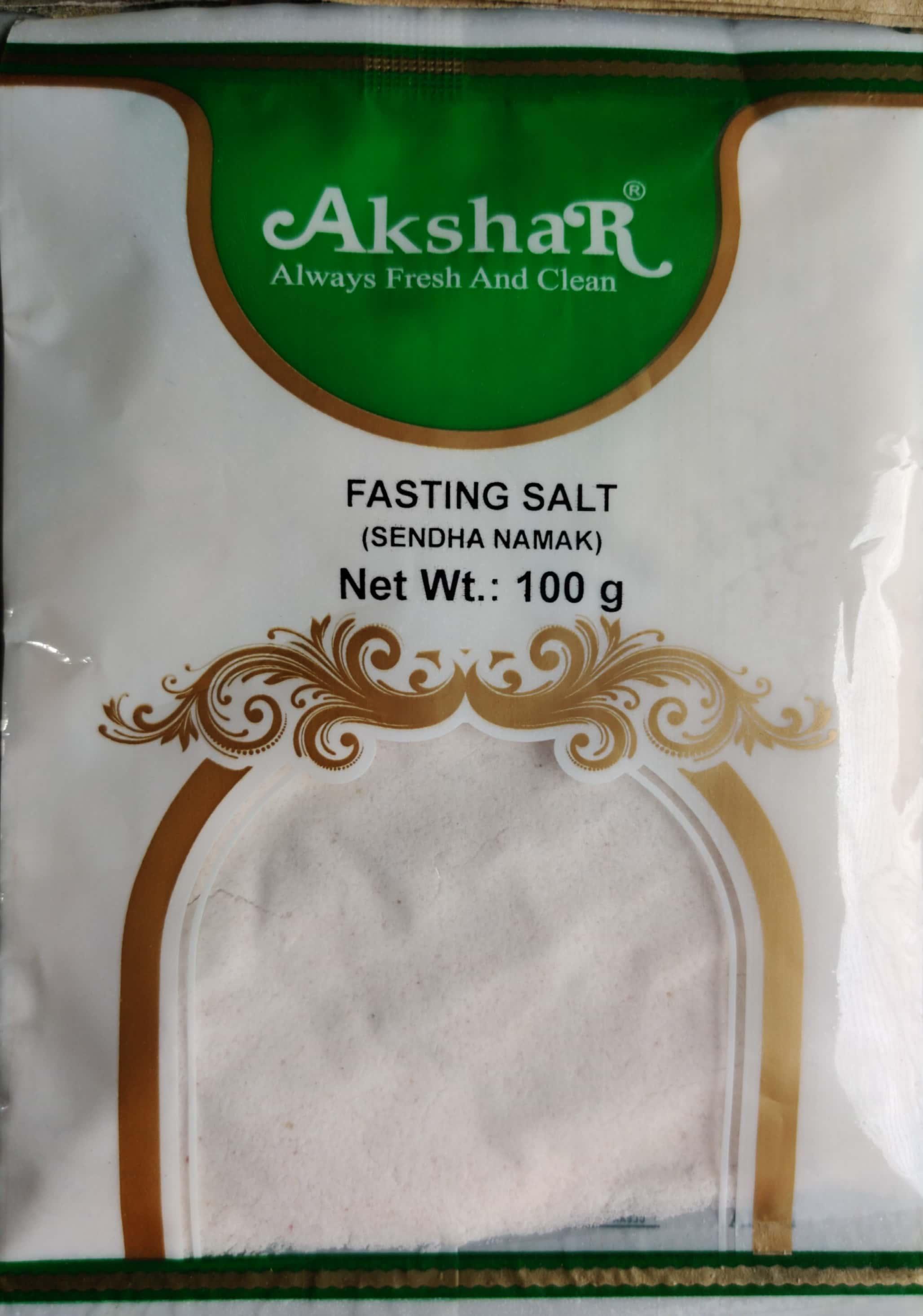 FASTING SALT (SENDHA NAMAK)