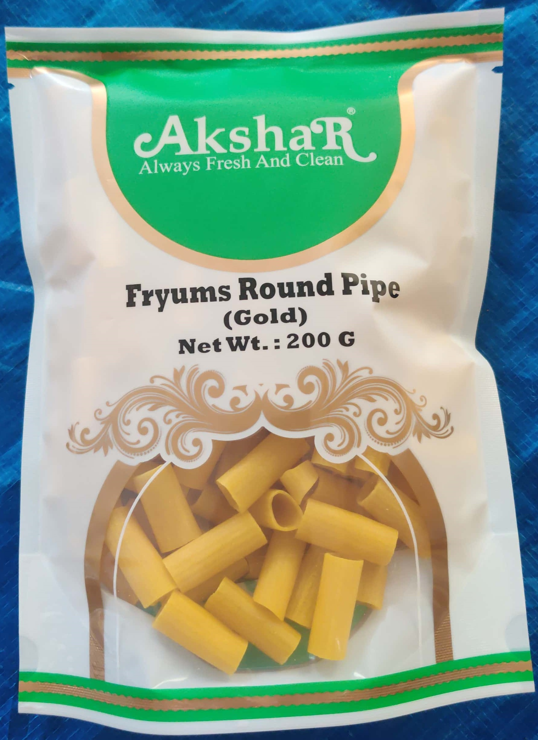 FRYUMS ROUND PIPE (GOLD)