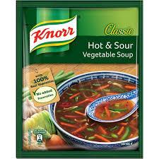 HOT & SOUR VEGETABLE SOUP