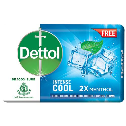 INTENCE COOL SOAP 2 X MENTHOL (FREE WITH DERMI COOL)