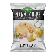 NAAN CHIPS BUTTER GARLIC