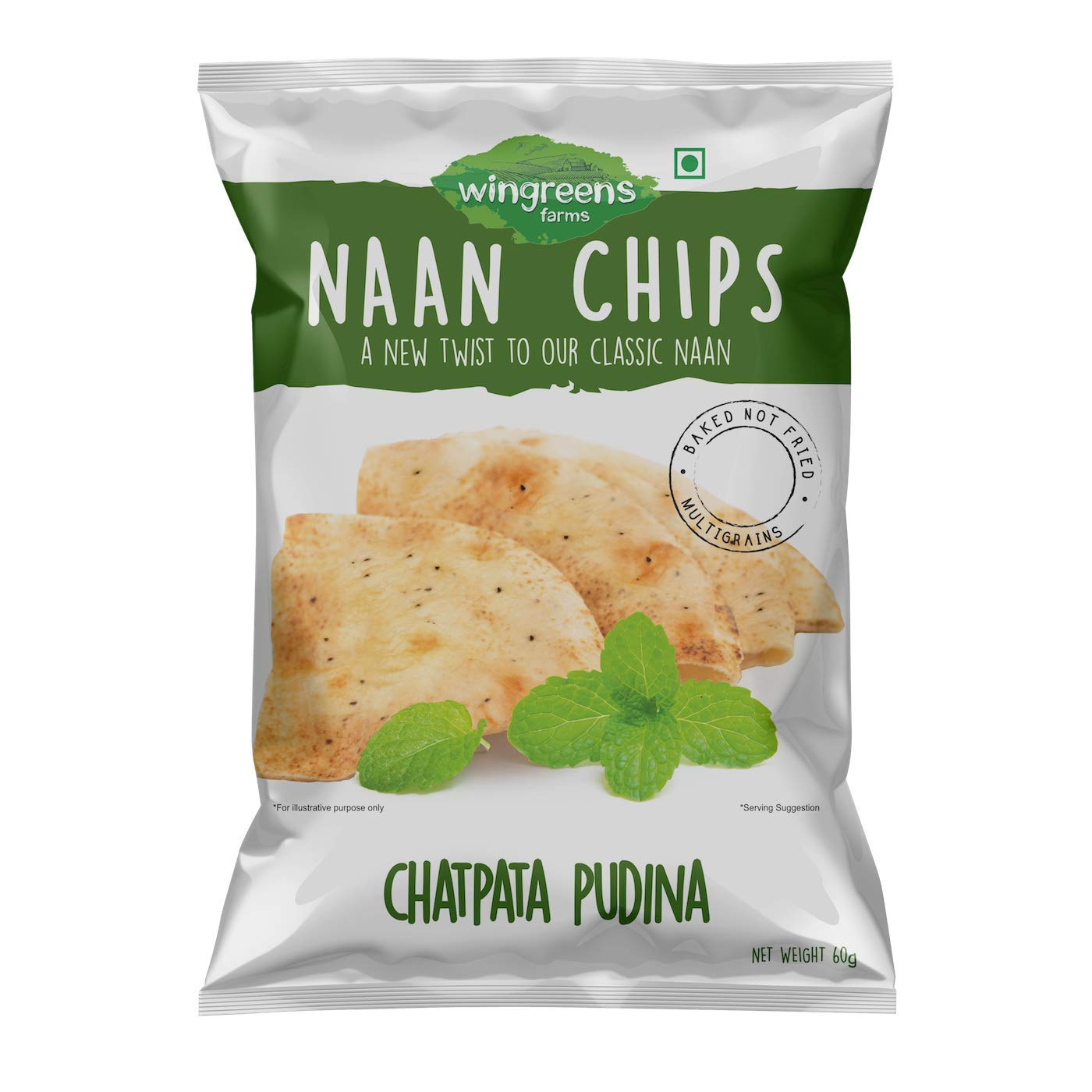 NAAN CHIPS CHATPATA PUDINA