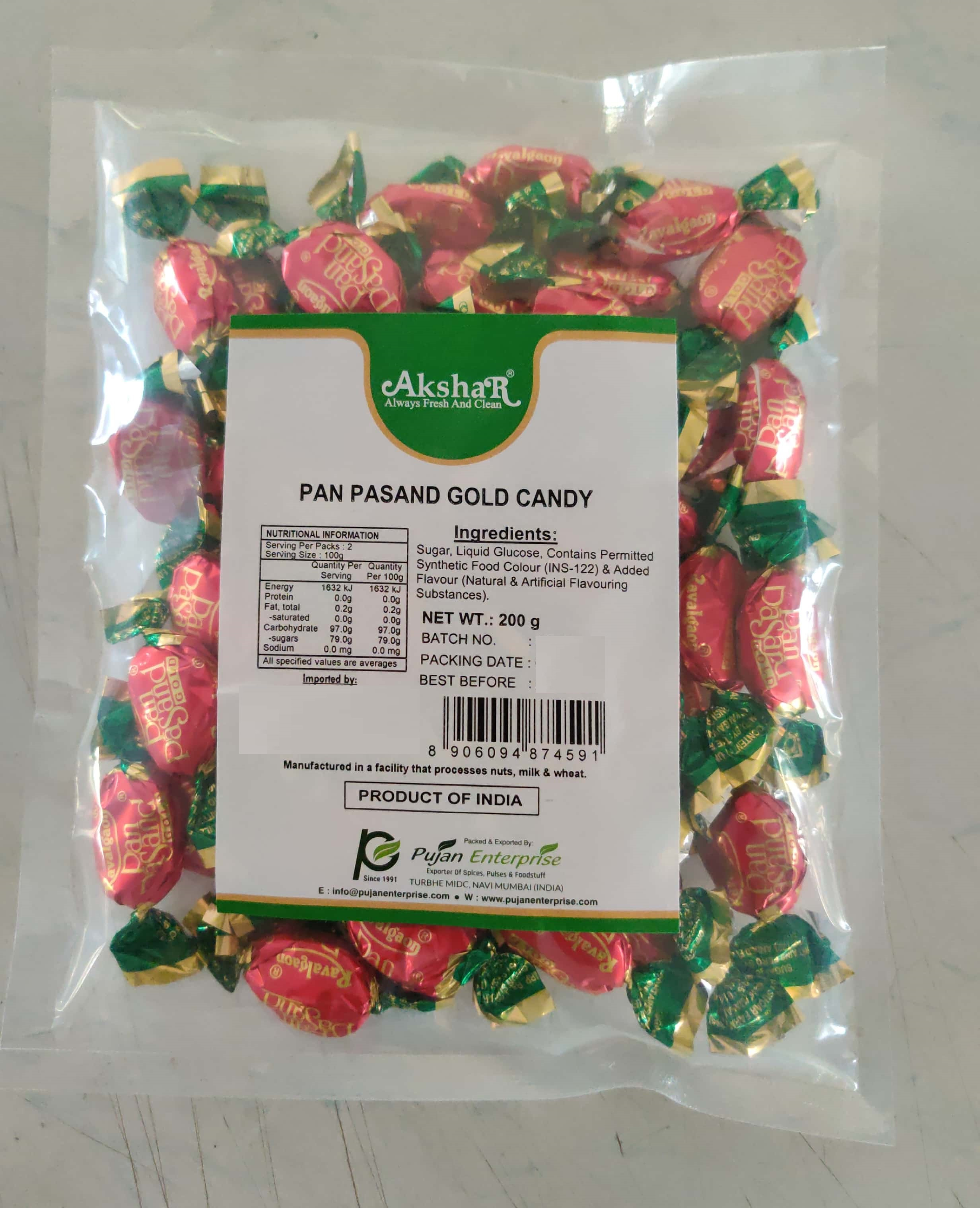 PAN PASAND GOLD CANDY